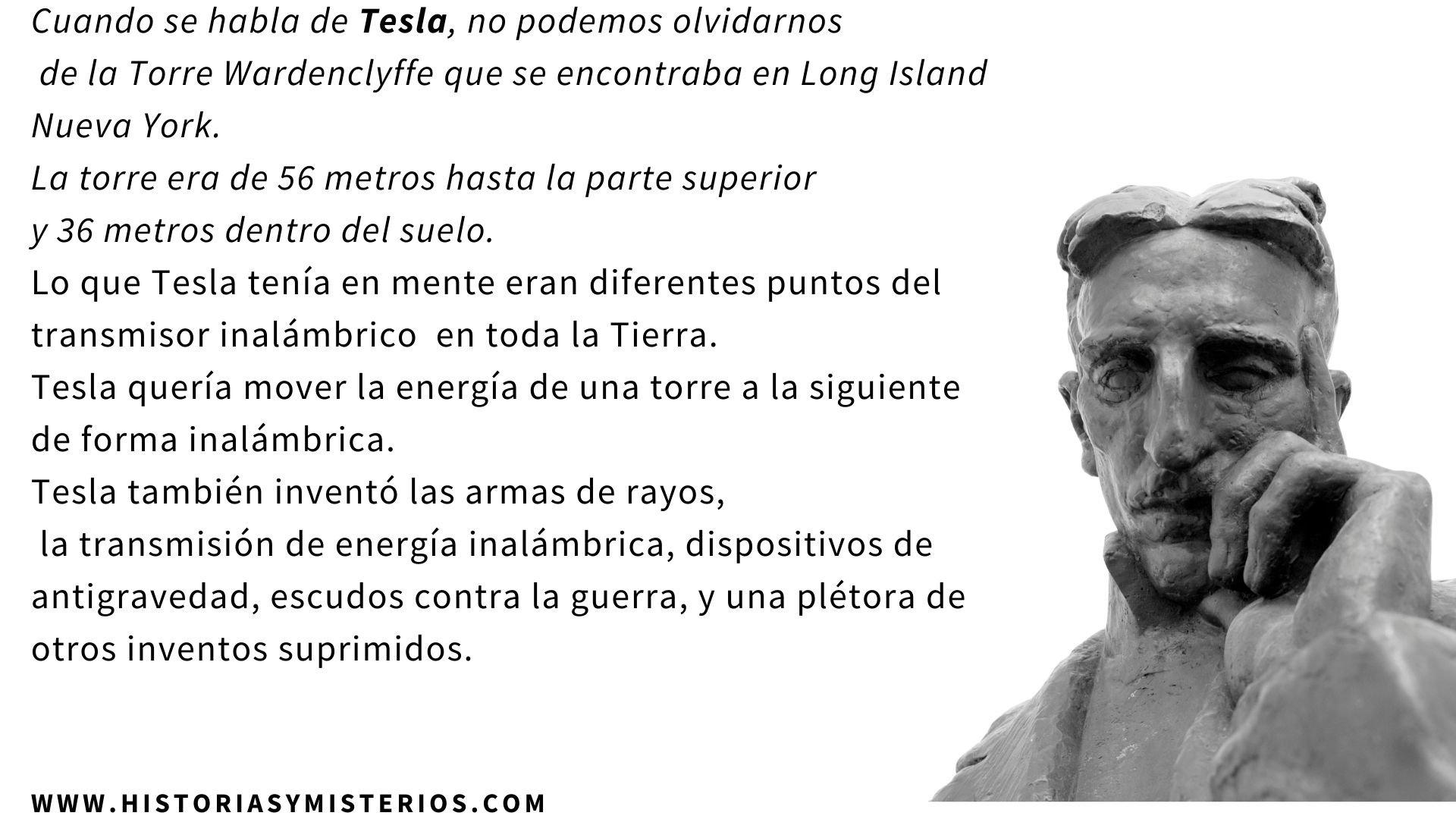 NIKOLA TESLA Y LOS EXTRATERRESTRES