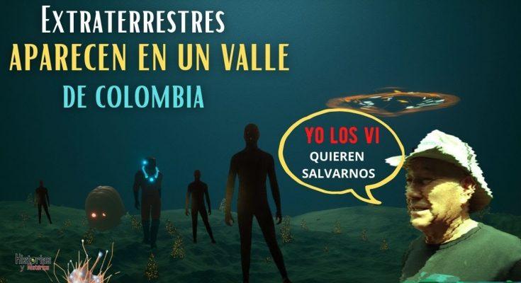 Aparecen EXTRATERRESTRES En un Valle de Colombia